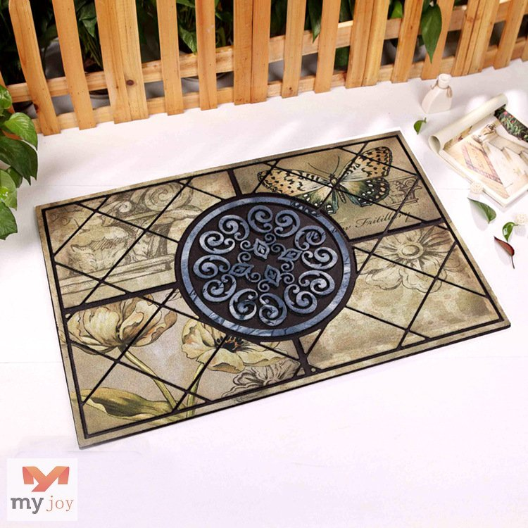 Recycle Rubber Anti-Slip Door Mats MJ-ZRXJ09